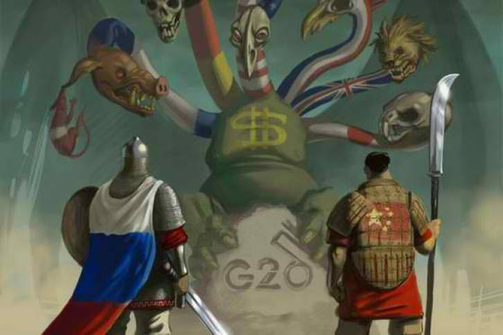 The G20 Itching to go to War with Russia